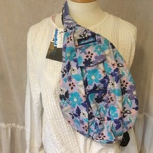 KAVU Mini Sling Rope Backpack Crossbody Bag